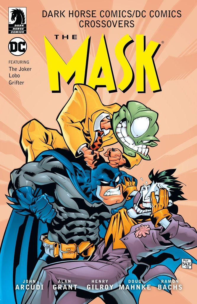 The Mask Joker Batman DC Dark Horse Crossover