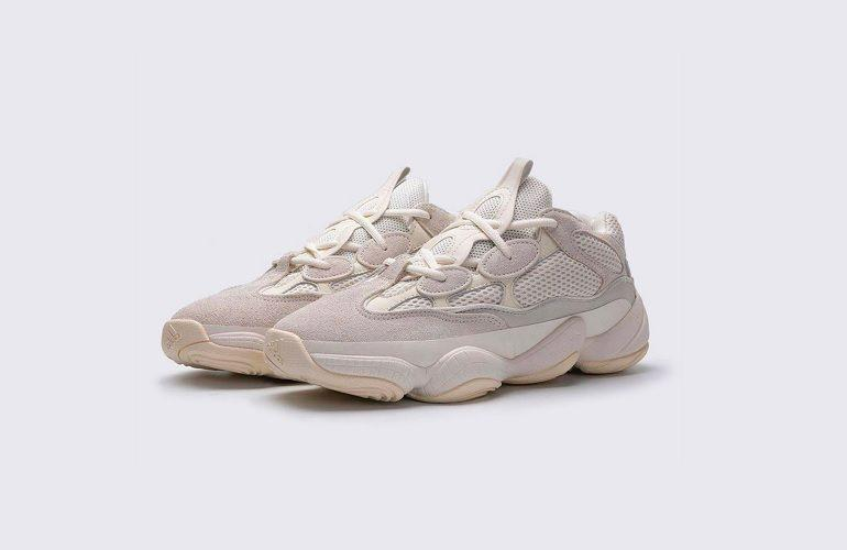 adidas Originals Drops Latest Collaboration Yeezy 500 Bone White