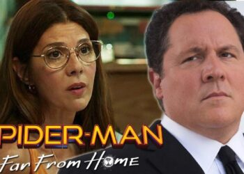 happy and aunt may The Spider-Man: Far From Home Trailer Is Here Spider-Man: Far From Home