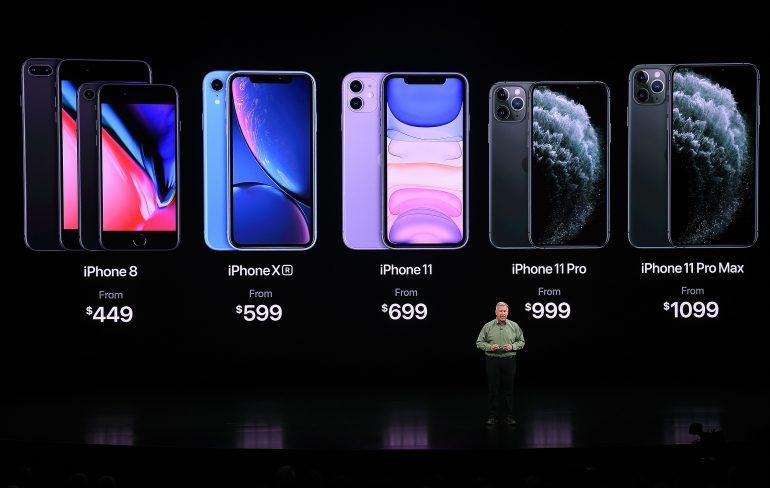 Apple iPhone 11 iPhone 11 Pro iPhone 11 Pro Max