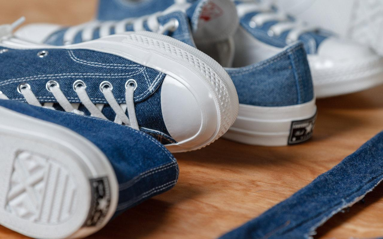 Converse Drops The Renew Denim Sneaker Collection