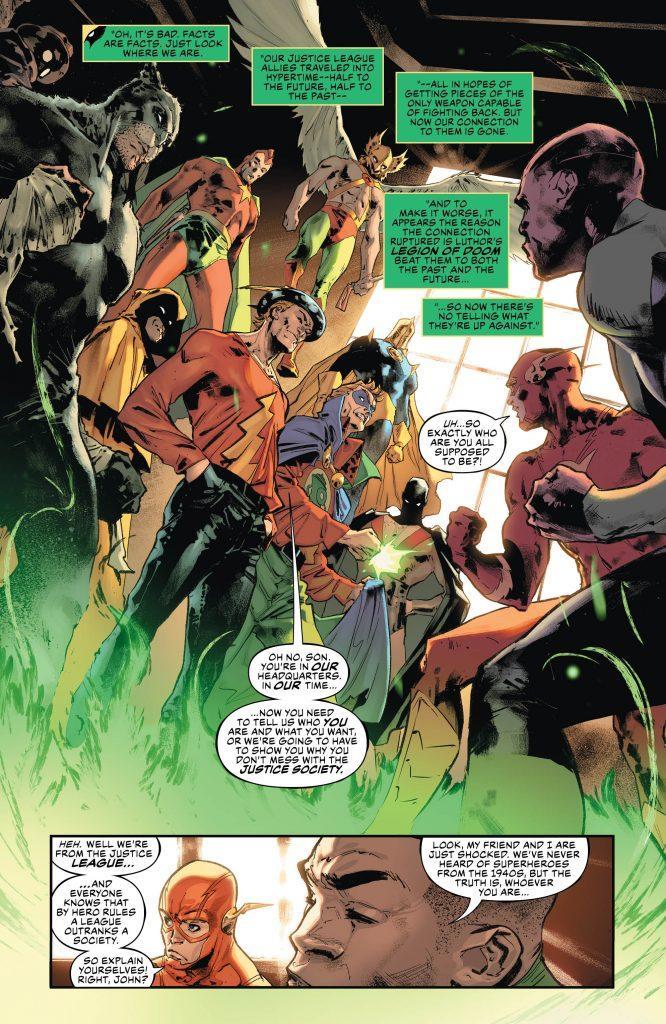 Justice League 31 Review