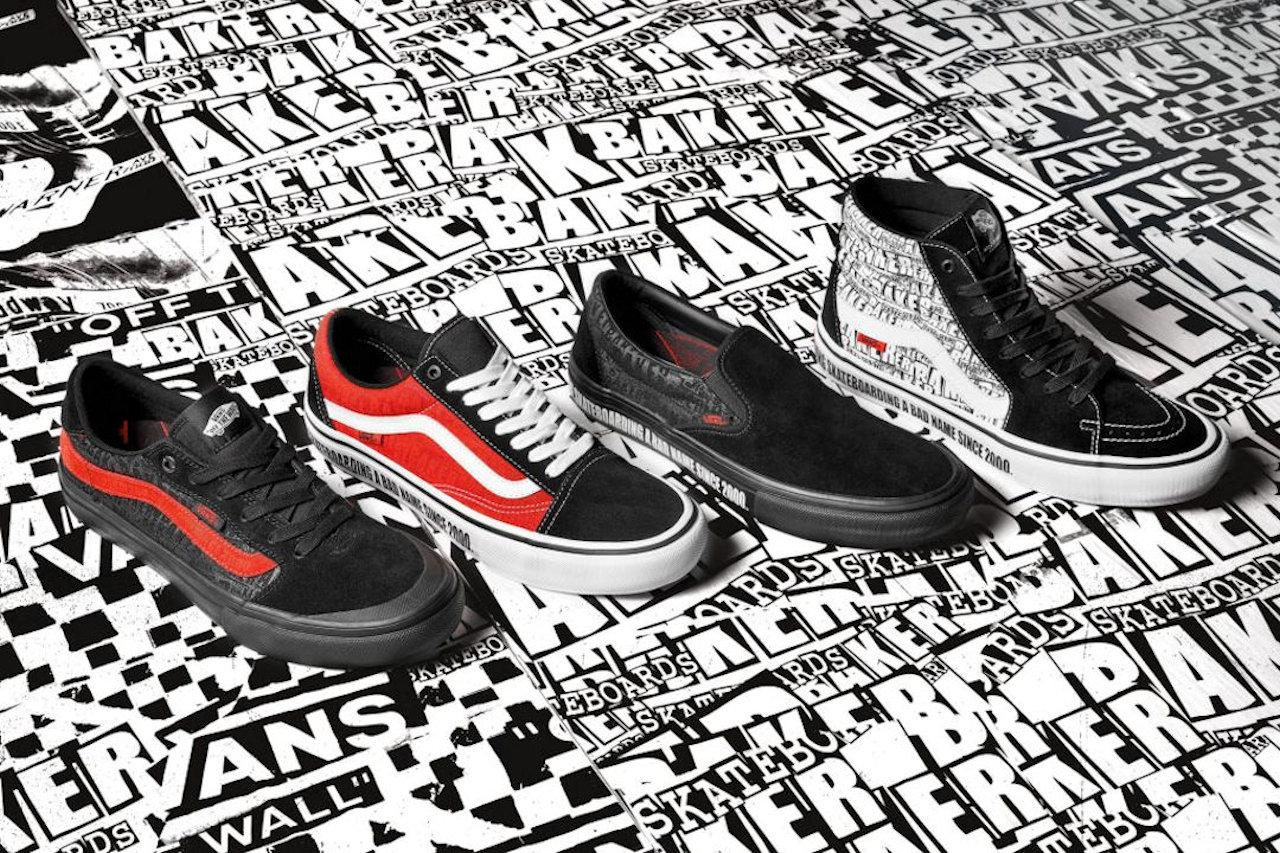 Vans Partners with Baker Skateboards for New Collection