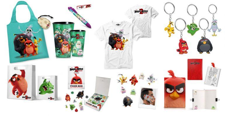 Win 1 of 5 Angry Birds Movie 2 Hampers