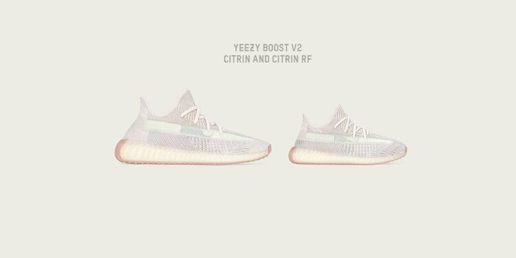 adidas and Kanye West Drop New Citrin Colourway for Yeezy 350 V2