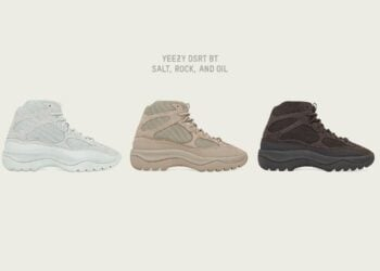 adidas Originals And Kanye Announce Latest Yeezy DSRT BT Collection