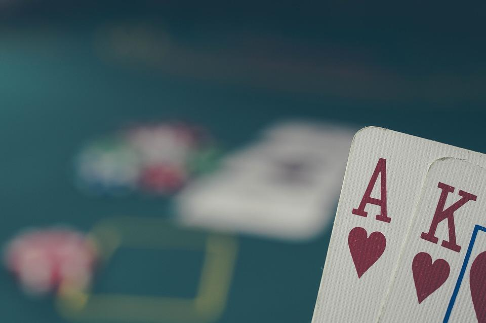 Poker, Cards, Ace, King, Casino, Gambling