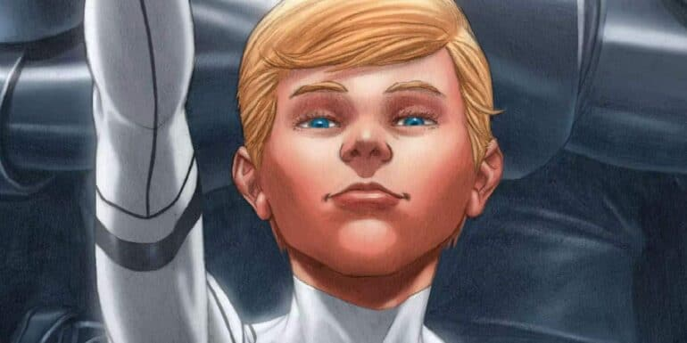 the most powerful mutant Franklin Richards
