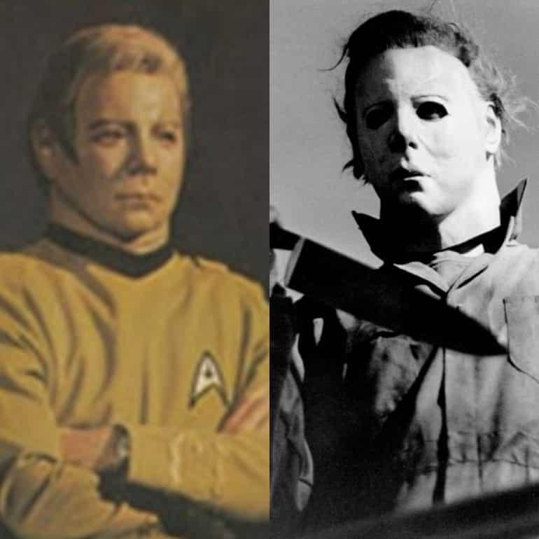 Halloween Mask Captain Kirk Star Trek