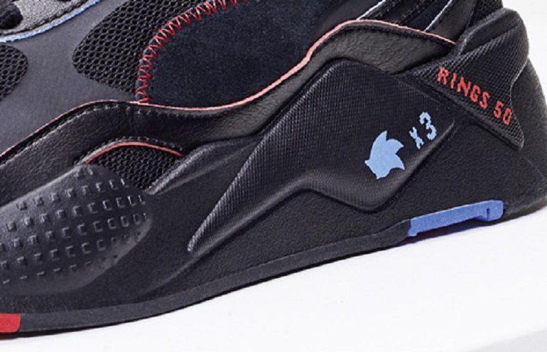 PUMA Partners with SEGA for PUMA X Sonic RS-X3 Sneaker