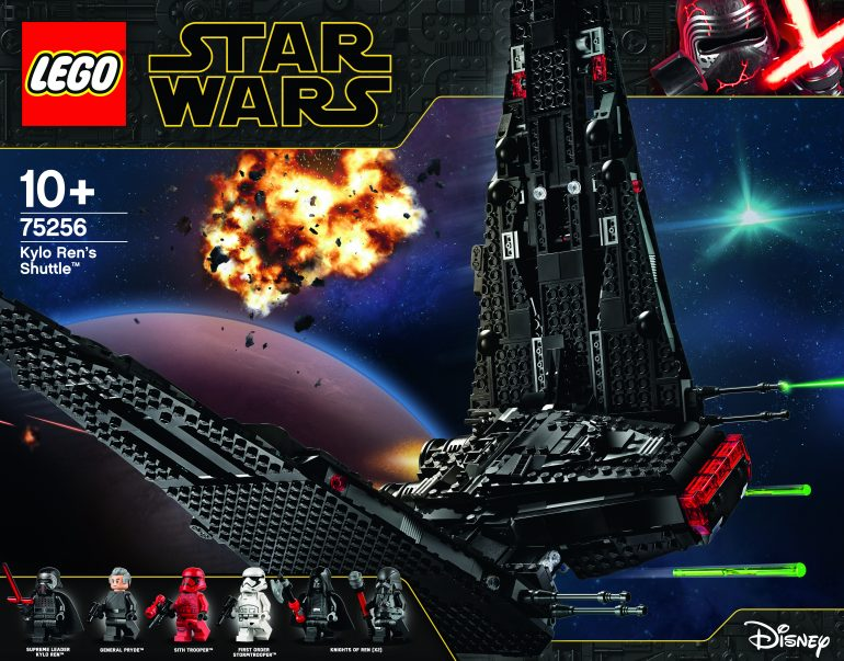 Win A Lego Kylo Ren S Shuttle Closed Fortress Of Solitude