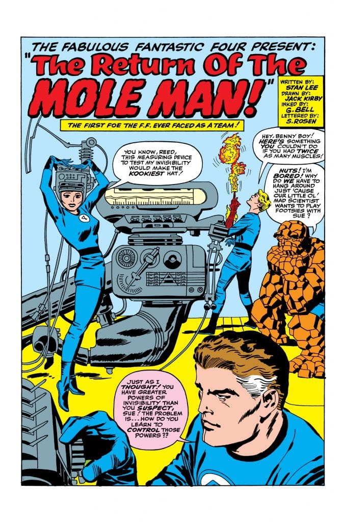 Fantastic Four #22 Stan Lee