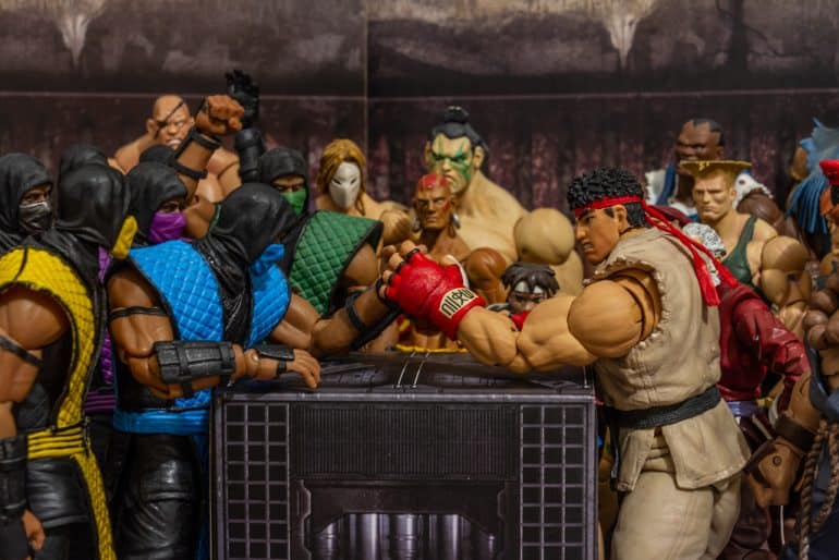 Mortal Kombat Street Fighter