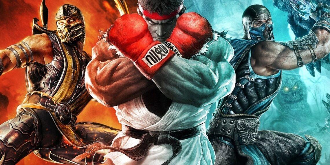 Mortal Kombat x Street Fighter