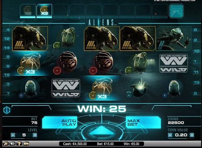 NetEnt Casino Aliens