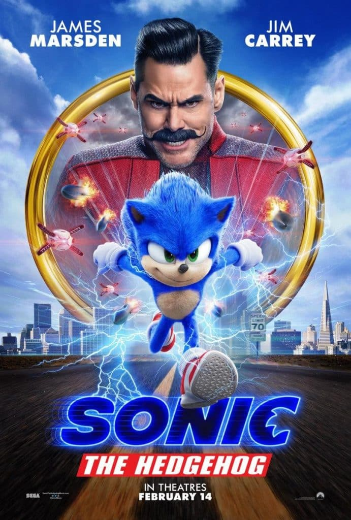 Official Sonic Promo Poster