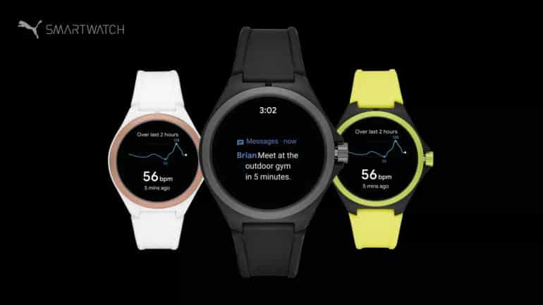 PUMA Launches Wear OS Smartwatch Powered by Fossil