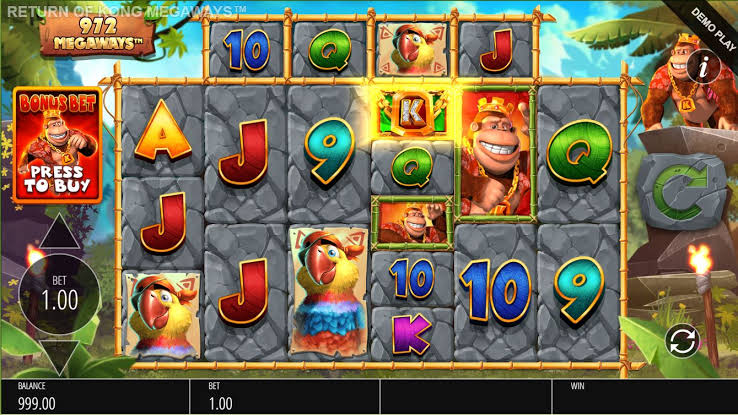 Return of Kong: Megaways – Blueprint Gaming