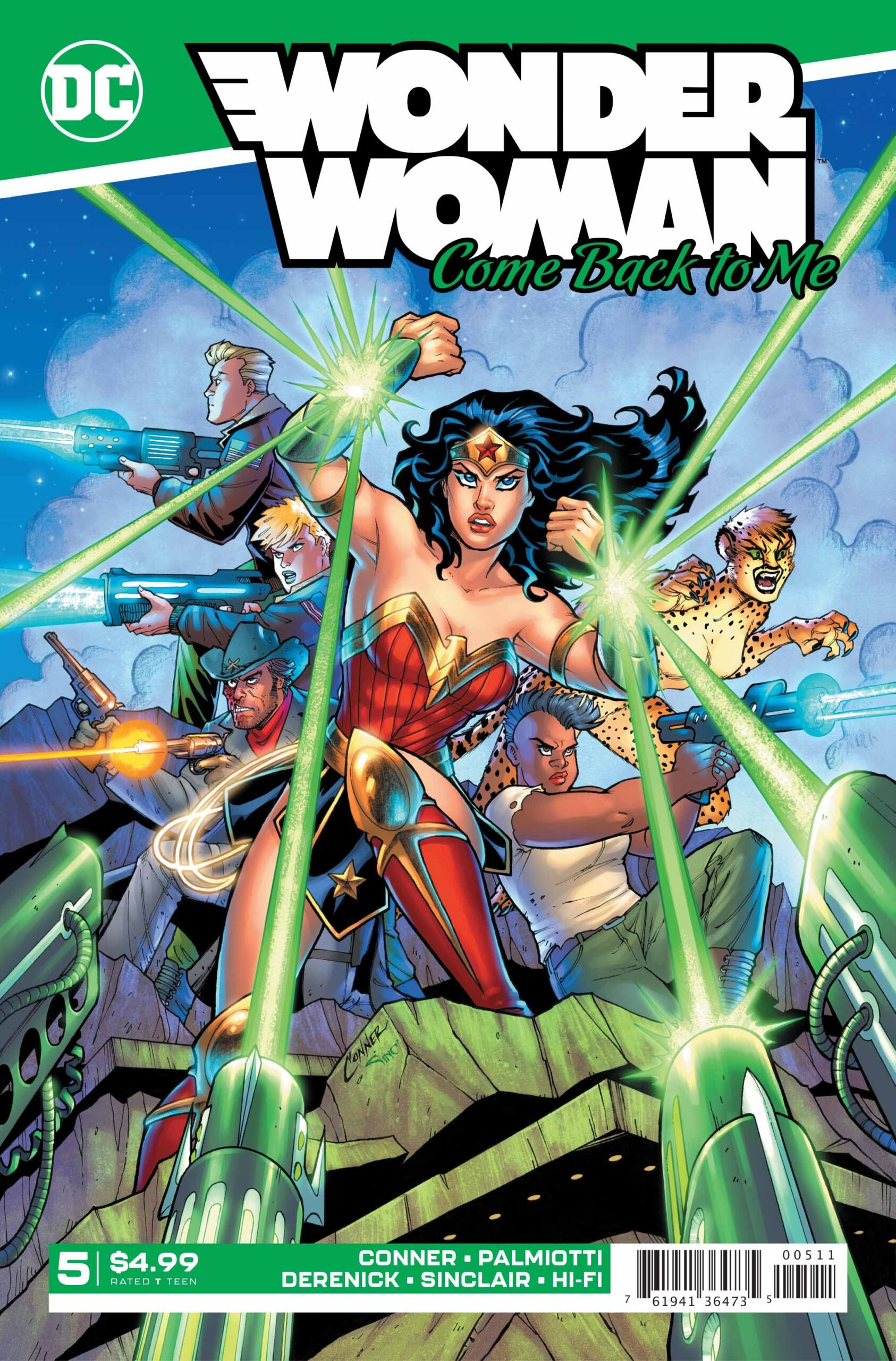 Wonder Woman - Come Back To Me #5