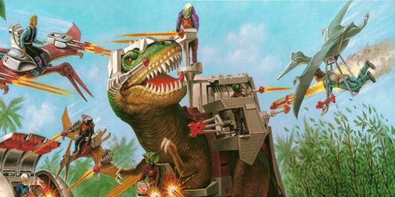 dino-riders jurassic world 3