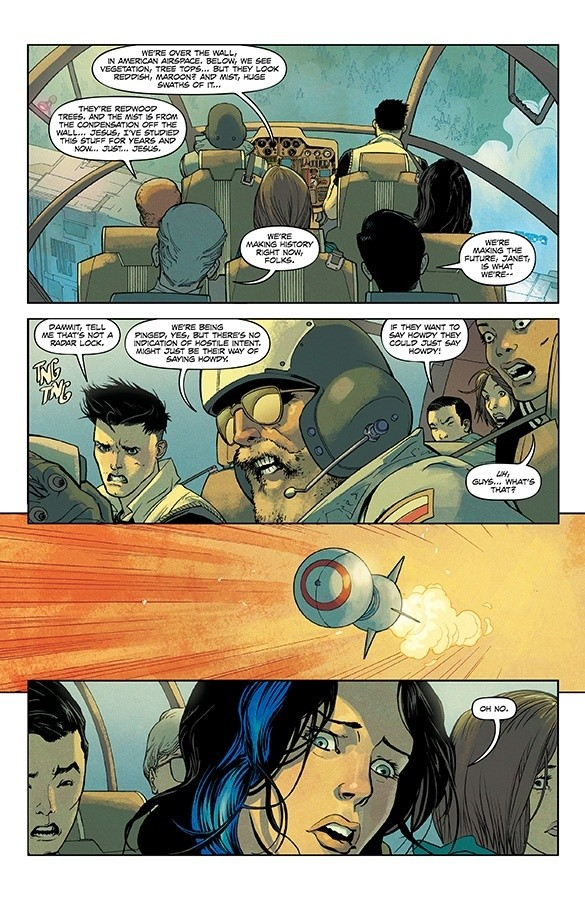 undiscovered country Comic Book Scott Snyder
