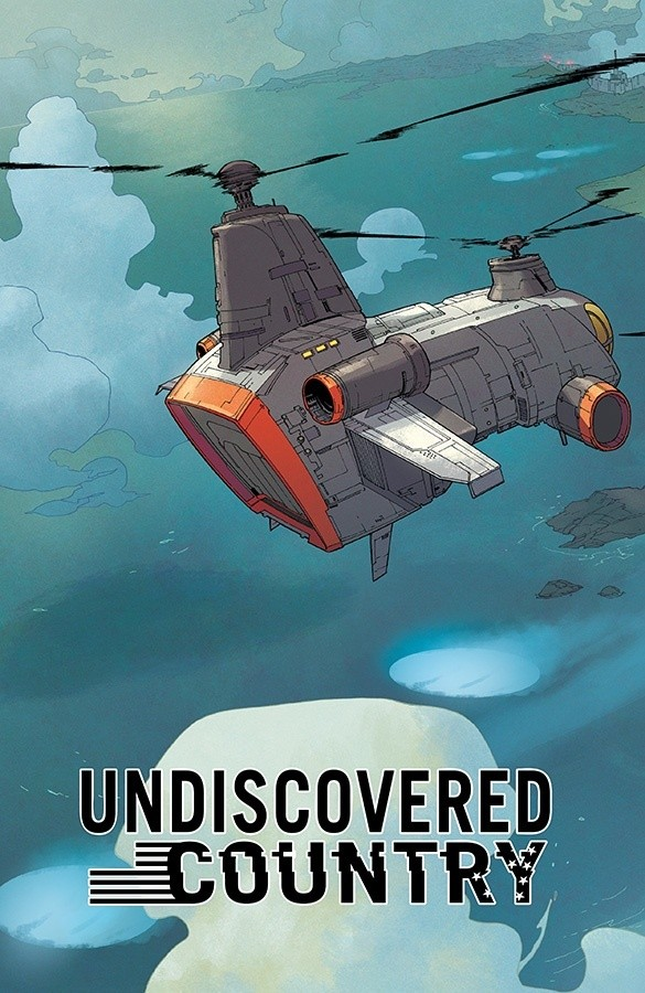 undiscovered country Comic Book