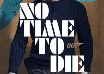 James Bond No Time To Die Movie Poster