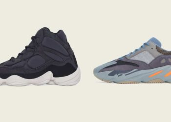 adidas Drops YEEZY 500 High Slate and YEEZY 700 Carbon Blue