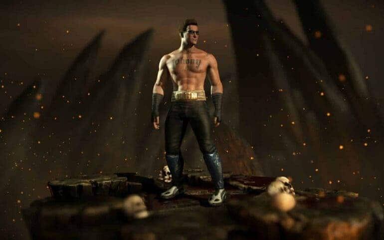 johnny cage Mortal Kombat movie
