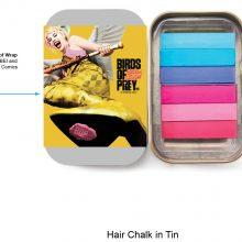 09 BOP Hair Chalk in Tin Win A Birds of Prey (And the Fantabulous Emancipation of One Harley Quinn) Hamper - CLOSED Competitions