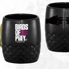 15 BOP 13oz Ceramic Mug with Gold Handle Win A Birds of Prey (And the Fantabulous Emancipation of One Harley Quinn) Hamper - CLOSED Competitions