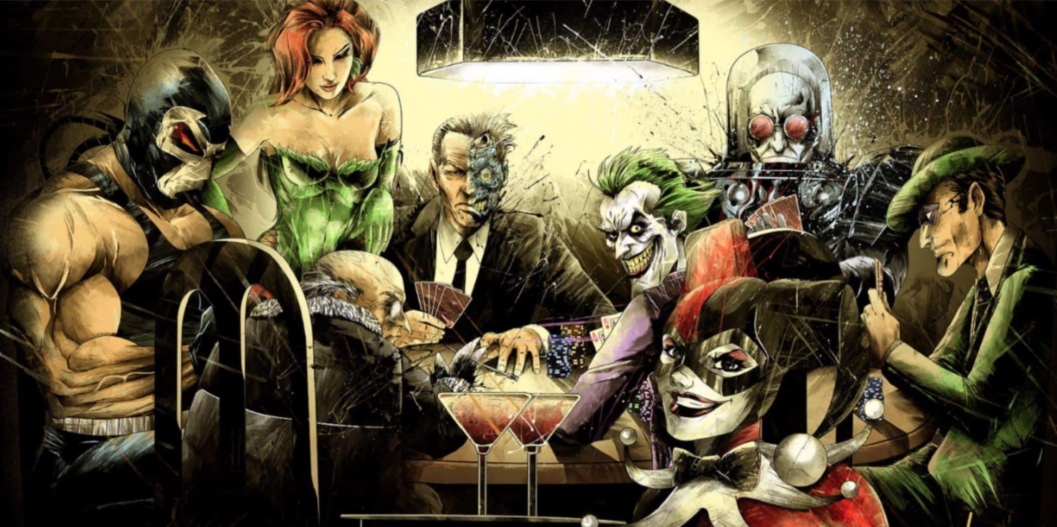Comic Book Villains Who Love Gambling