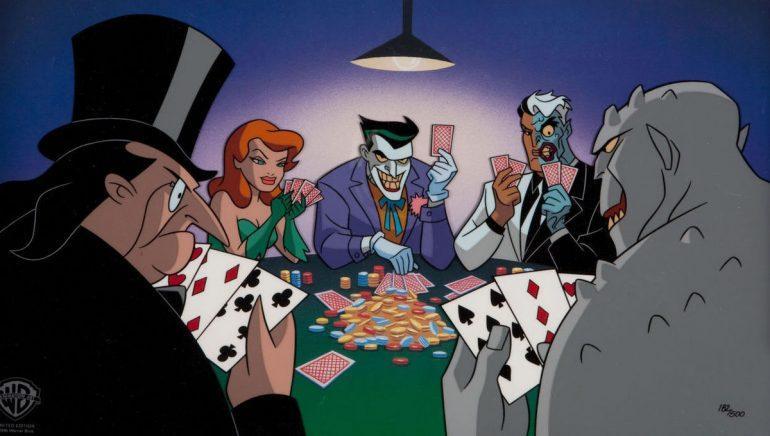 Joker Penguin Comic Book Villains Who Love Gambling