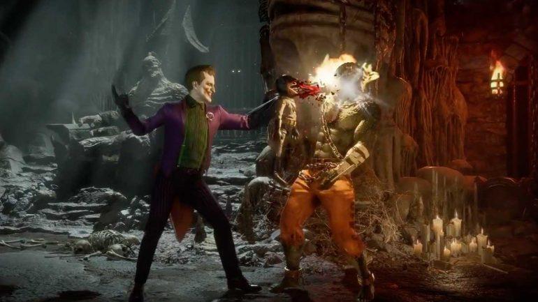 Mortal Kombat game Joker