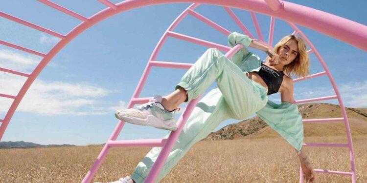 PUMA Partners with Cara Delevingne for PUMA Rise Drop