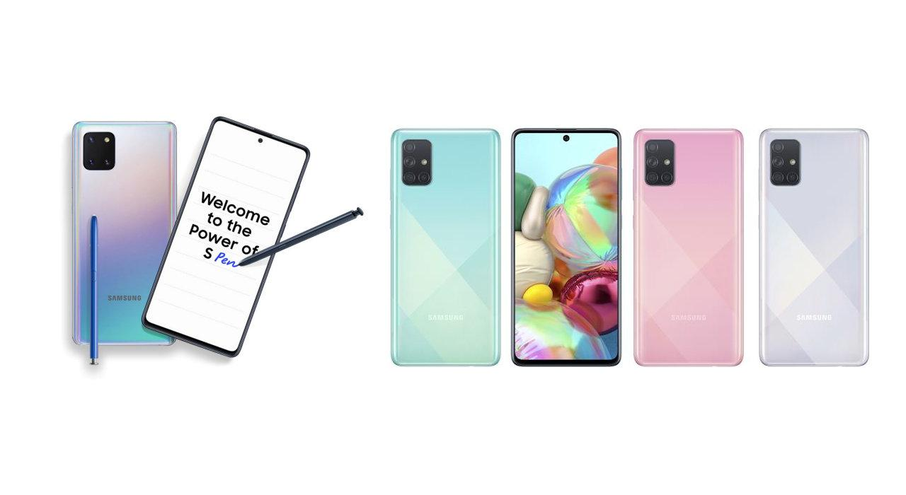 Samsung Announces Note10 Lite and Updated A-Series