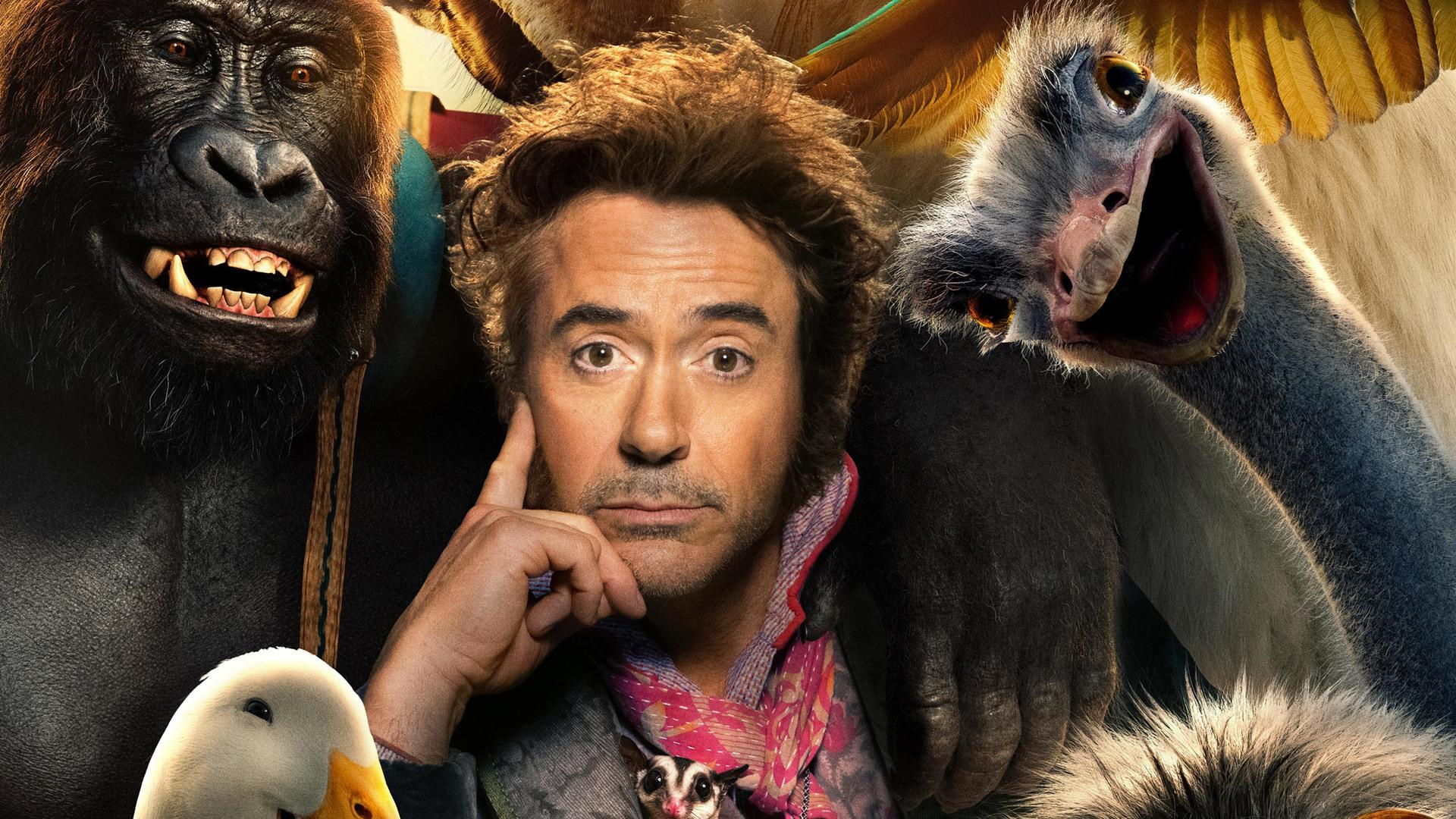 Robert Downey Jr's Dolittle Proves MCU Loyalty Is Only Skin-Deep - Fortress of Solitude