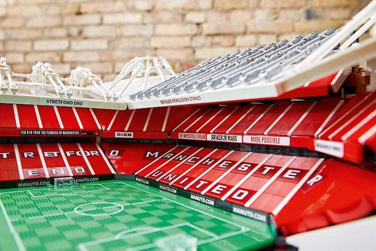 LEGO Creator Brings Old Trafford To Fans' Homes