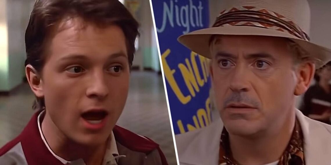 Robert Downey Jr Tom Holland Back To The Future Back to the Future with Robert Downey Jr and Tom Holland Shouldn't Happen Movies