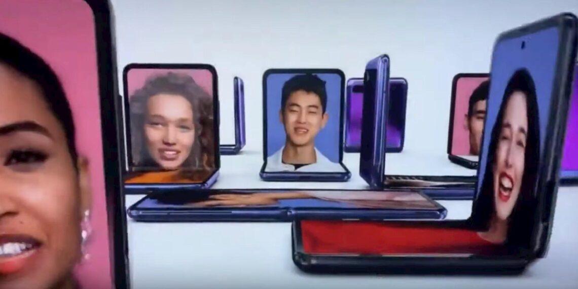 Samsung Airs Galaxy Z Flip Ad