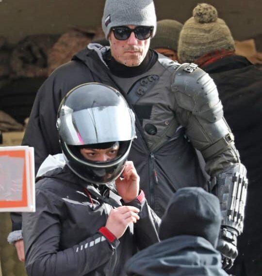 Scott Kirkbride Batman stunt double