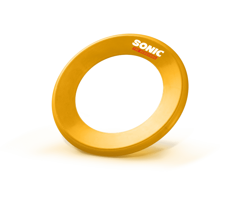 Sonic Frisbee v7 Win A Sonic the Hedgehog Movie Hamper - CLOSED Competitions