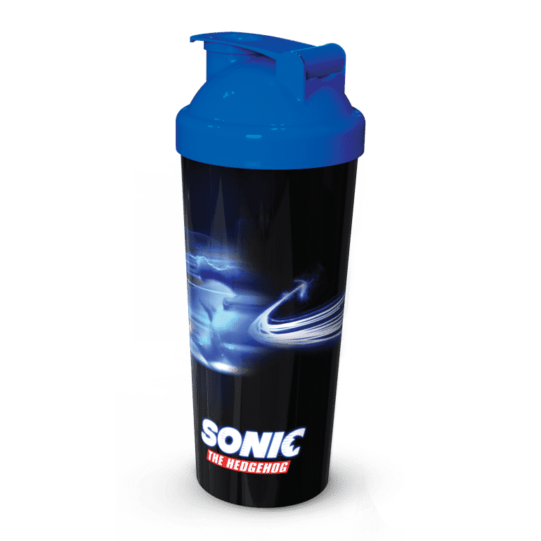 Sonic Movie Protein shaker v7 Win A Sonic the Hedgehog Movie Hamper - CLOSED Competitions