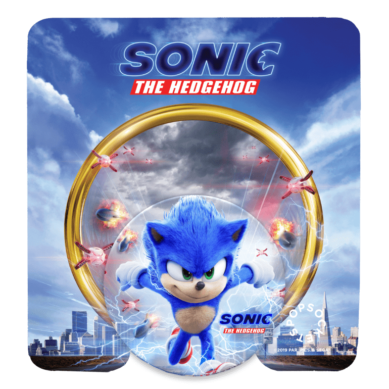 Sonic Popsocket Win A Sonic the Hedgehog Movie Hamper - CLOSED Competitions