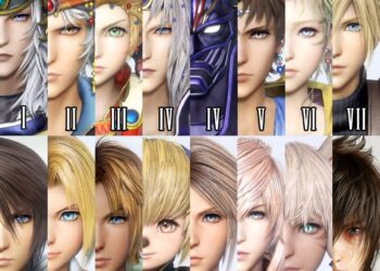 Final Fantasy protagonists