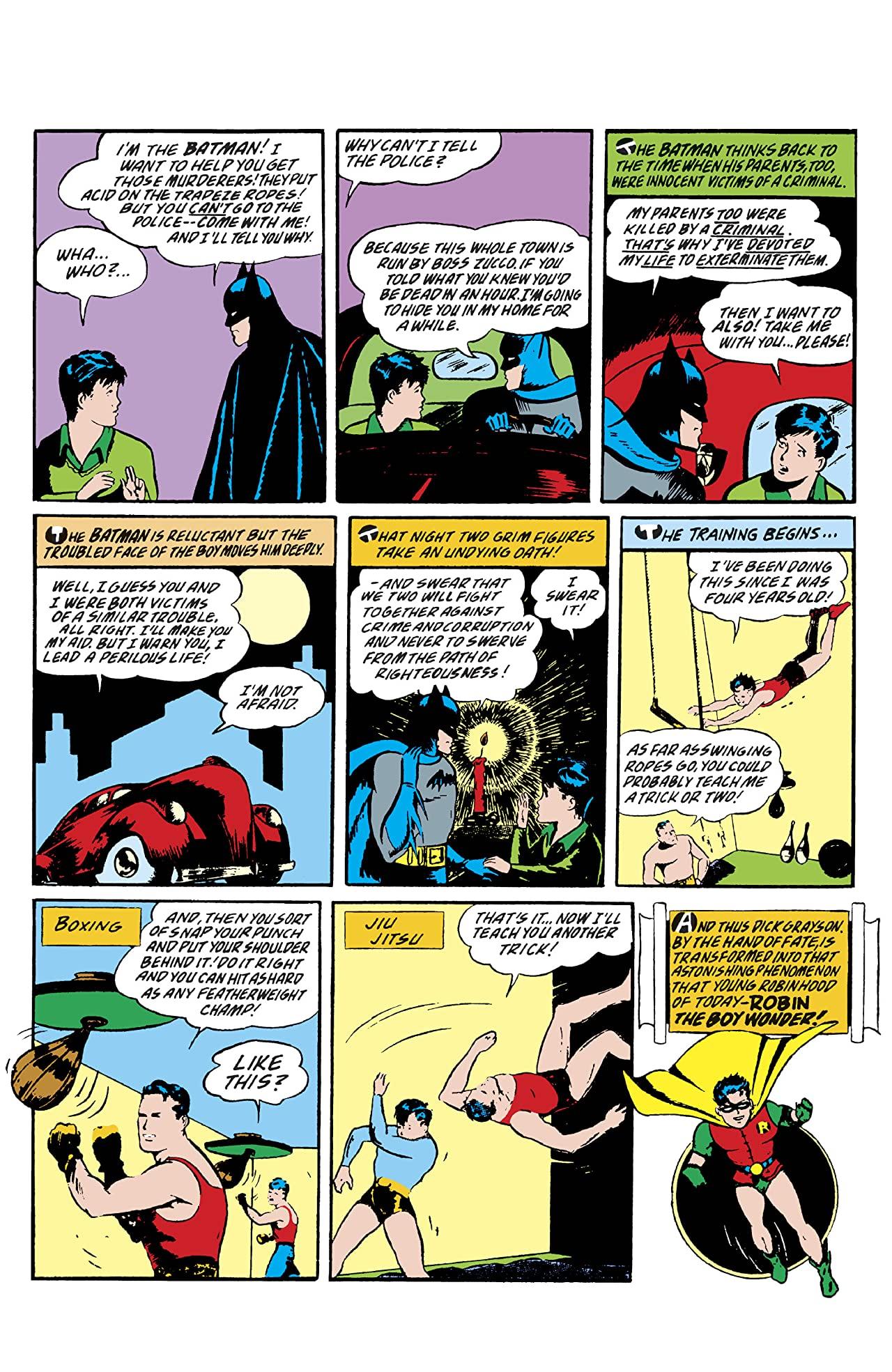 Detective Comics #38 Facsimile Edition Batman Robin