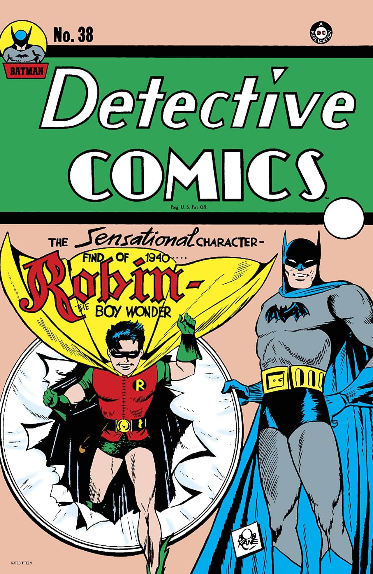 Detective Comics #38 Facsimile Edition