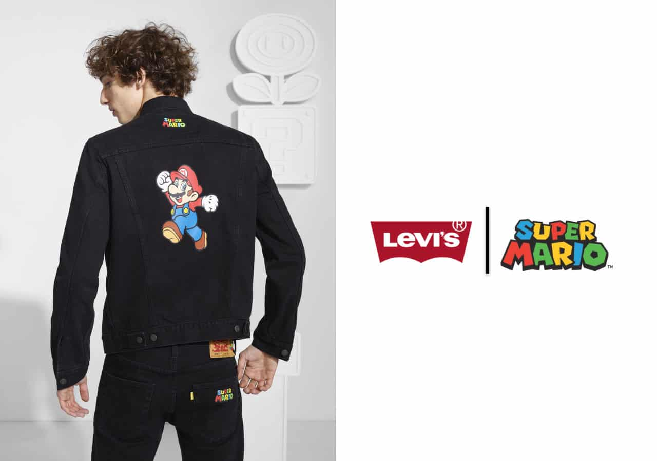 Levi's Partners with Nintendo for Levi's X Super Mario Collection