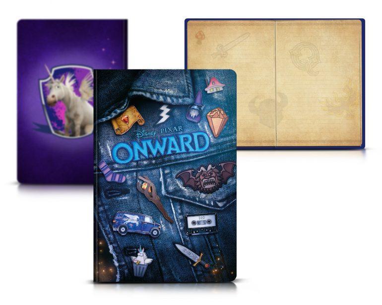 Onward Notebook Win A Disney/Pixar Onward Hamper - CLOSED Competitions