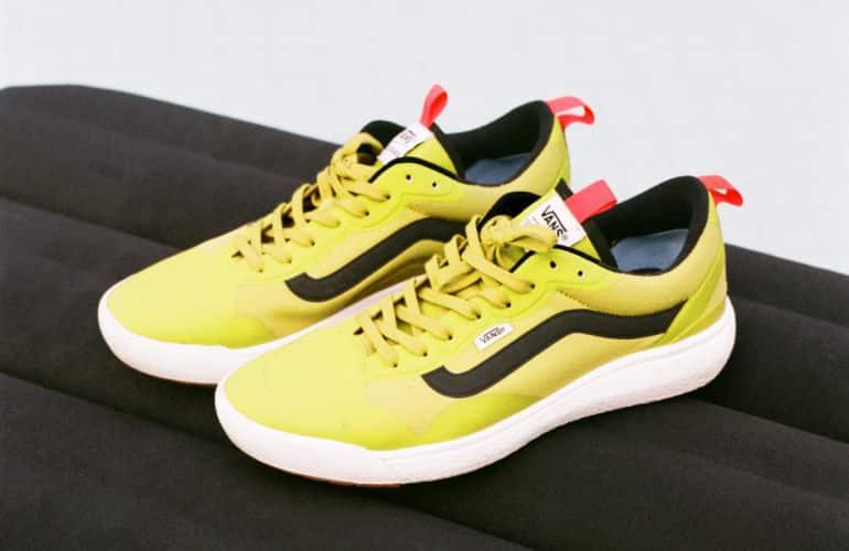 Vans Launches New UltraRange EXO Sneaker in Green Sulphur